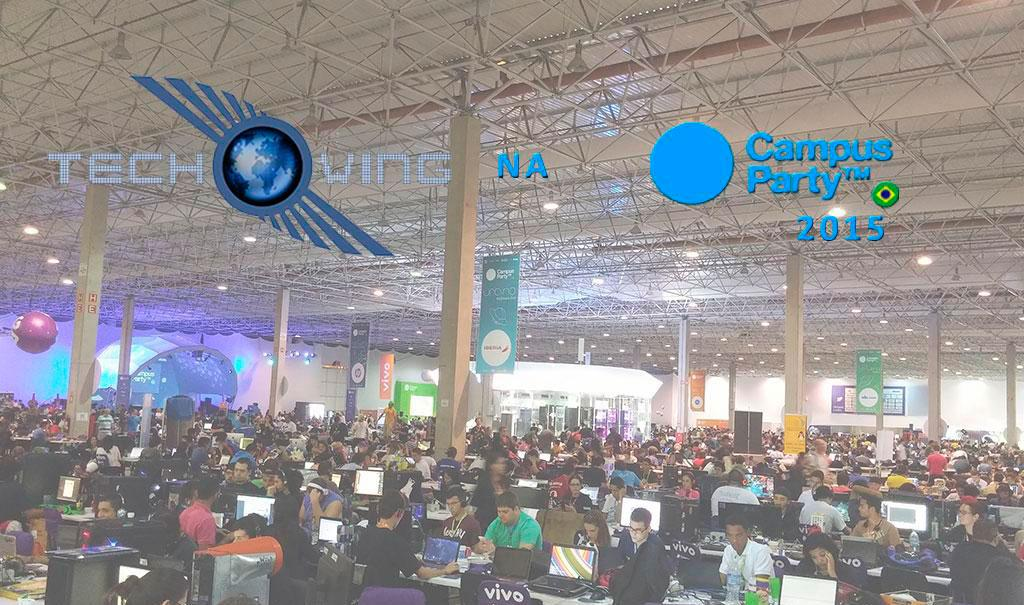 Techwing na Campus Party 2015